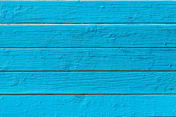 Blue wood texture background. Timber wooden planks texture