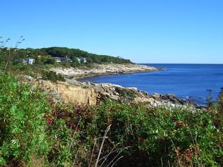 atlantic coast in new england, massachusetts, usa
