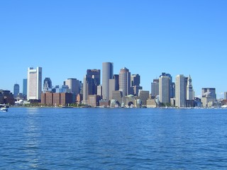 Skyline of Boston, Massachusetts, New England, USA