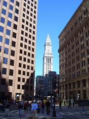 Custom House in Boston, Massachusetts, New England, USA