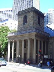Kings Chapel in Boston, Massachusetts, New England, USA
