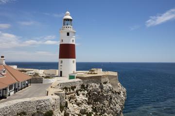 Gibraltar, lighthouse at Europa Point