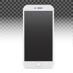 Template smartphone cell phone