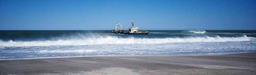 Skeleton Coast Zeila Shipwreck wide