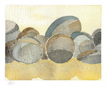 some little stones