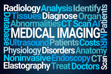Medical Imaging Word Cloud