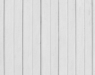 White wooden Board wall texture background.