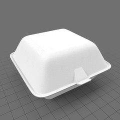 Hamburger container