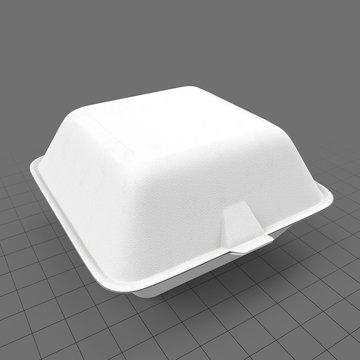 Hamburger container