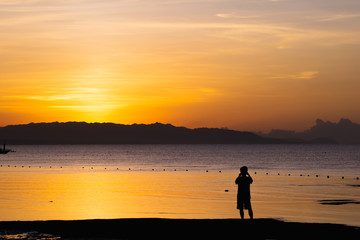 Sunrise at Panglao Bohol