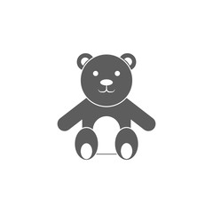 Teddy bear icon. Element of toys for mobile concept and web apps. Icon for website design and development, app development. Premium icon