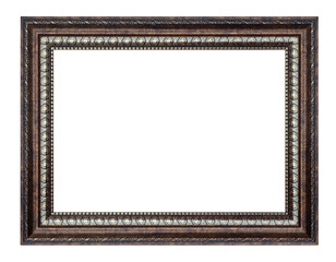 brown and golden frame