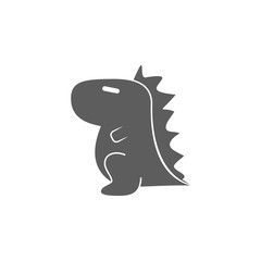 toy dragon icon. Element of toys for mobile concept and web apps. Icon for website design and development, app development. Premium icon