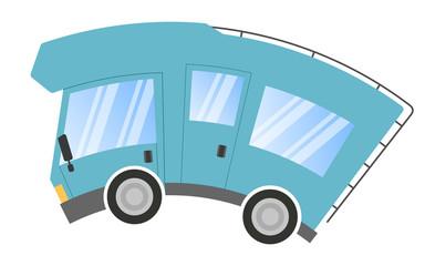 Caravan car confort travel on holiday