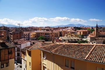 Architectural detail of Segovia, Spain, Europe