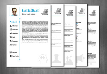 Interactive PDF Resume Layout