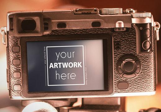 Camera Viewfinder Mockup