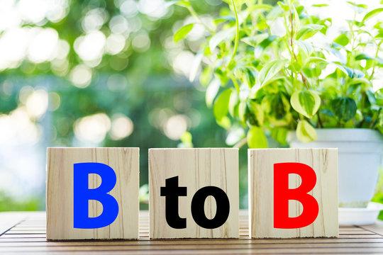 木製 ビジネスイメージ BtoB