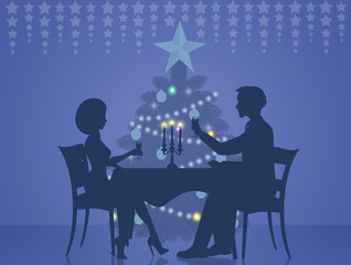 Dinner for two for Christmas