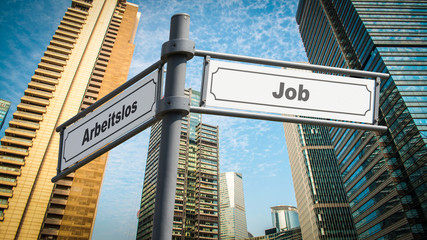Schild 367 - Job