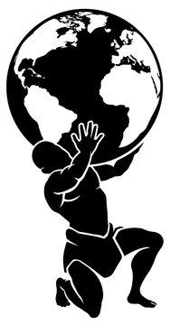 Atlas Titan Holding Globe