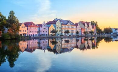 Keuken foto achterwand Europese Plekken Landshut Old Town, Bavaria, Germany