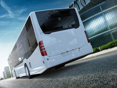 Stadtbus Citybus Heck CG Render