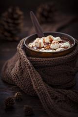 Kakao zu Weihnachten