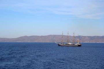ギリシャのエーゲ海の風景