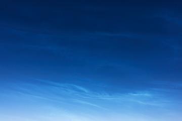 Night shining clouds