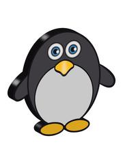 pinguin süss 3d