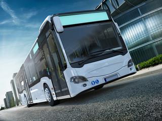 Stadtbus Citybus Frontal CG Render