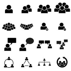 Personen Icons