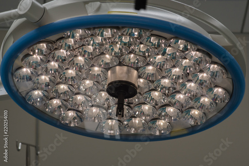 Surgery lamp in operating room,Hospital surgery light