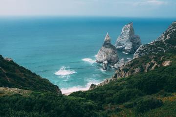 Amazing coastline in Portugal