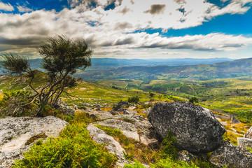Galician Landscape near Arbo - Spain