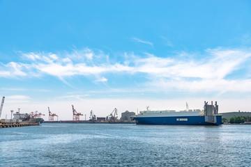 仙台港の風景