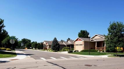 Neighborhood with Crosswalk