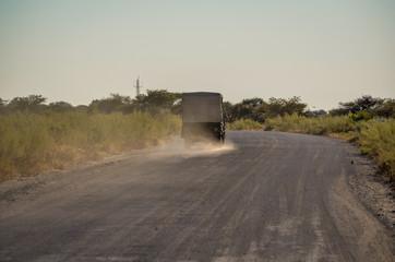 Jeep auf der Piste