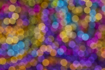 Colorful Bold Bokeh