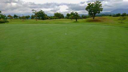 キレイに整備されたゴルフコース
