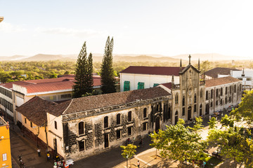 A typical view in Leon Nicaragua