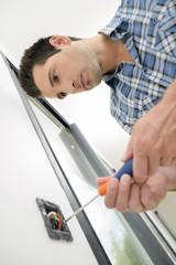 Replacing wall socket