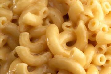 Background of Classic Stovetop Macaroni and Cheese