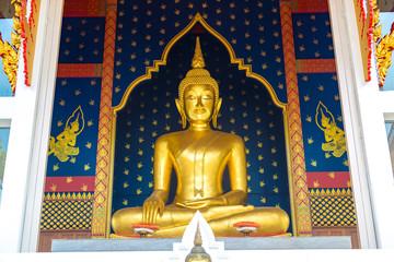Buddha statue in Wat Saket