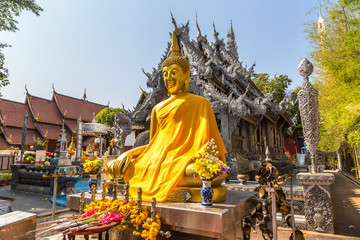 Buddhists temple in Chiang Mai