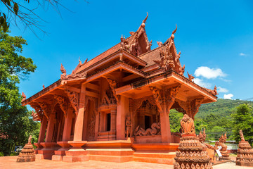 Red Temple on Samui