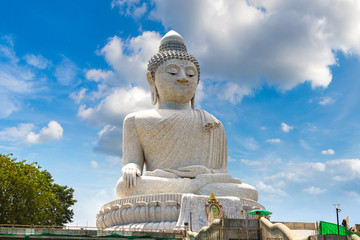 Big Buddha on Phuket in Thailand