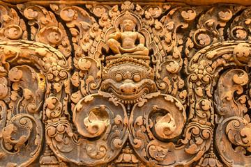 Banteay Srei temple in Angkor Wat Fototapete