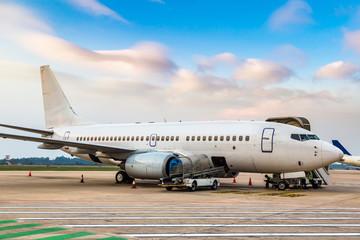 Aircraft in Noi Bai airport, Hanoi